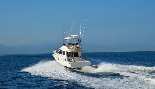 Meditarranean 38 Sport Fisherman Fishing Charter In Puerto Vallarta, Mexico
