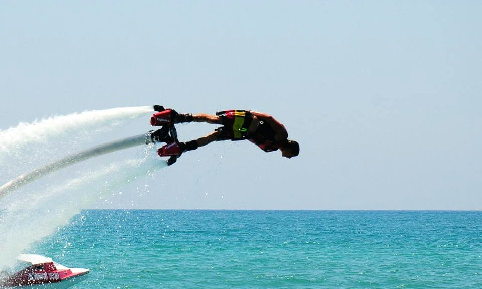 Have an amazing Flyboarding experience in Ankara, Turkey