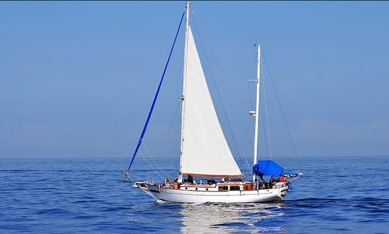 Ketch 40 Cruising Monohull Charter In Puerto Vallarta, Mexico