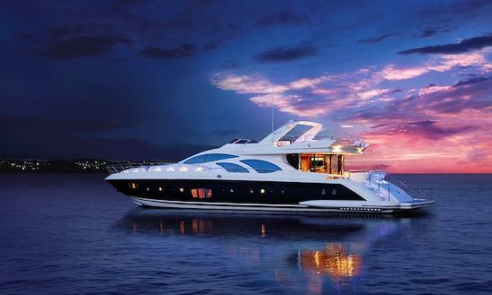 Exclusive Azimut 98 Leonardo Power Mega Yacht Charter In Puerto Vallarta, Mexico