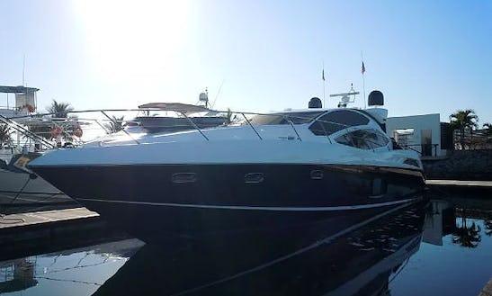 Enjoy On This Luxury Sunseeker Predator 64 Power Mega Yacht Charter In Puerto Vallarta, Mexico