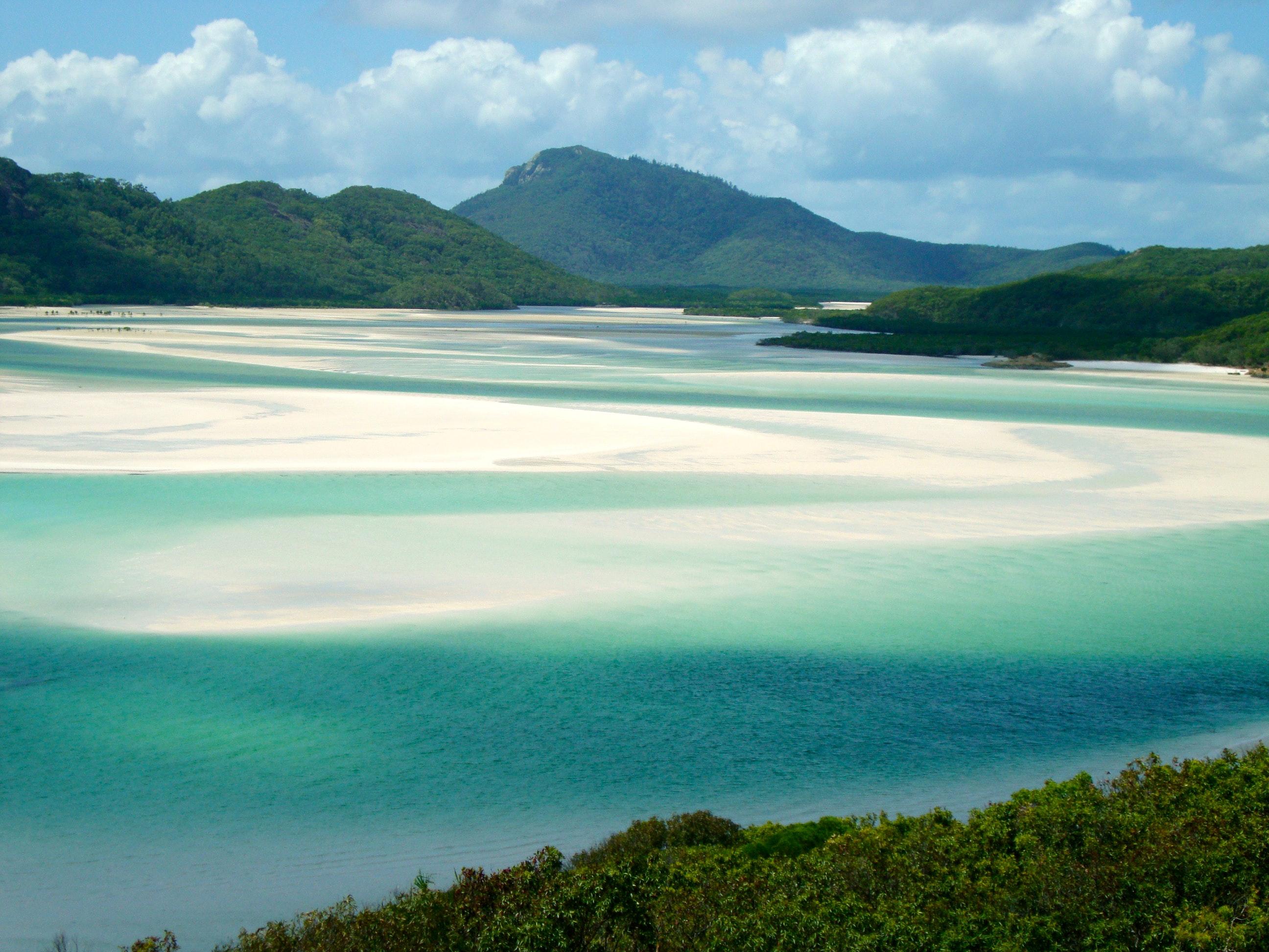 Remote Australian Beach - Whitehaven