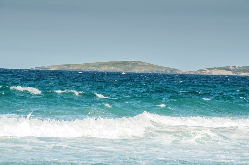 Beach in New South Wales Australia
