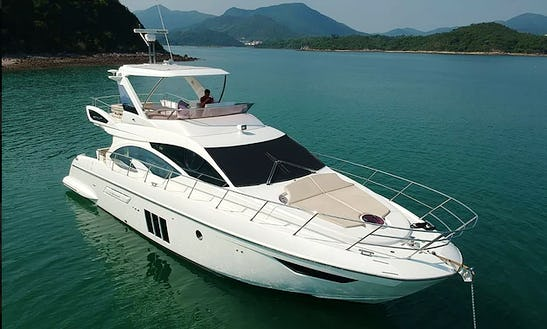 Azimut 53 Power Mega Yacht For 20 People In Hong Kong Island
