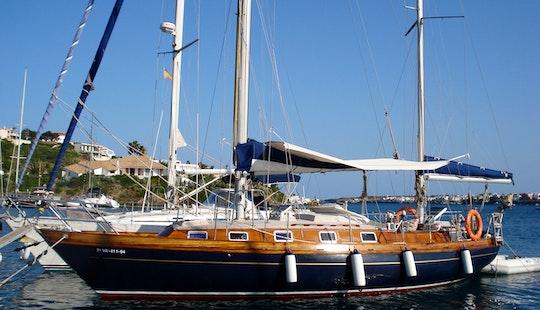 Rent A Classic Sailboat Of 12 M