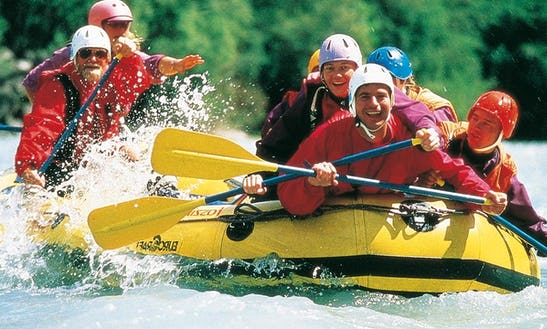 Spend And Extreme Water Adventure With A Rafting In Antalya, Turkey For Up To 5 Person