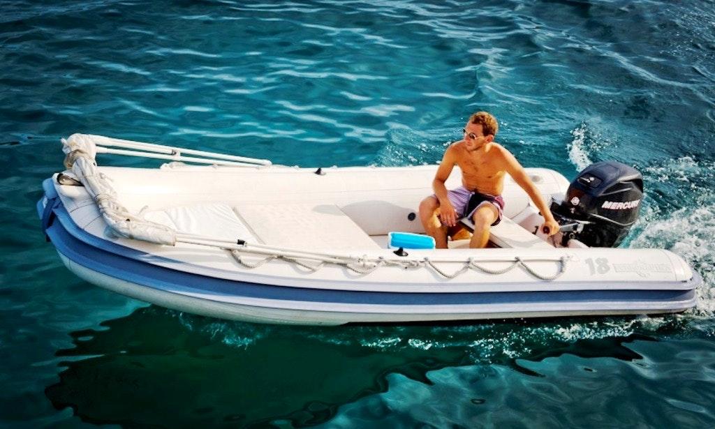 RIB Rental in Ponza