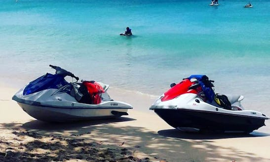Hit The Water In Style With This Jet Ski In Oistins, Barbados