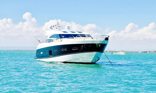 Charter This 15 People 78' Princess V Power Mega Yacht In Cabo San Lucas, Mexico