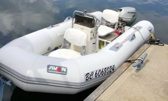 Rent This 2 Perons Rigid Inflatable Boat In Nanaimo, Canada