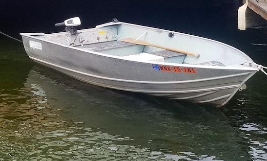 12 Foot Aluminum Fishing Boat!