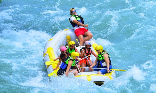 Experience The Thrill Of Rafting In Antalya, Turkey