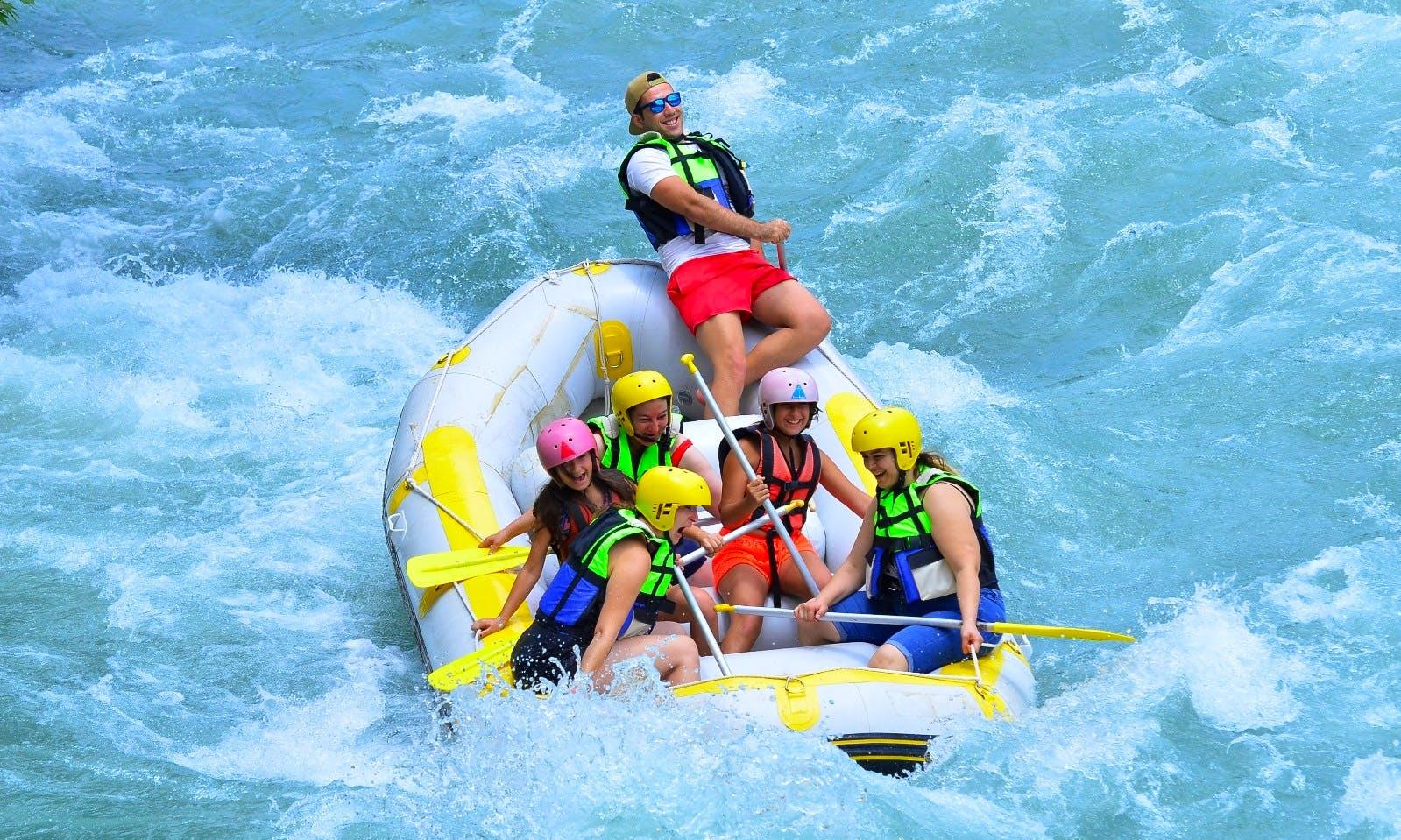 Experience The Thrill Of Rafting in Antalya, Turkey