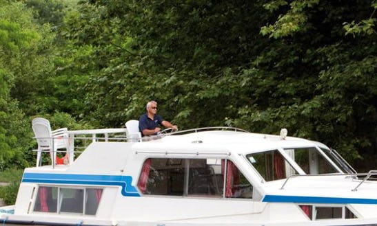 The Beautiful Bruges Cruise Aboard A 37' Motor Yacht In Brugge, Belgium
