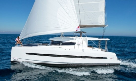 Bali 4.5 Yacht Charter For Bareboat Sailing In Bvi!