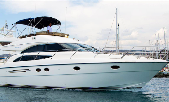 10 Persons Princess 50 Motor Yacht Charter In Limassol, Cyprus