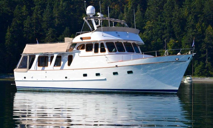 Have an Amazing Cruise with the 54' Motor Yacht Rental in Seattle