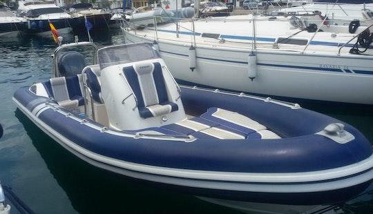Rent The Cobra Rib 7.5 Boat In Mahón