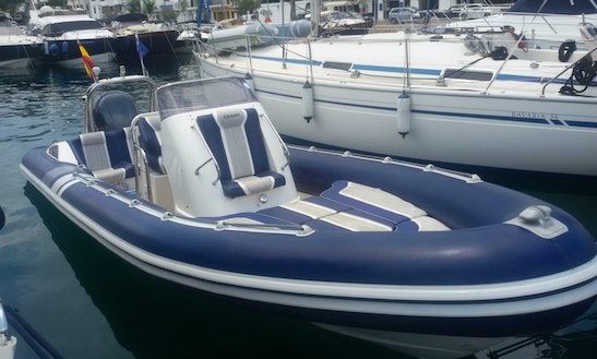 Rent The Cobra Rib 7.5 Boat In Mahón