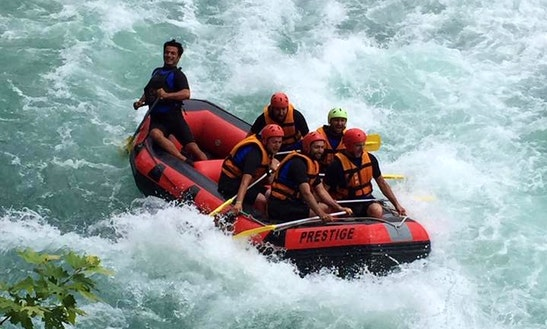 Hit The Water In Style With This Rafting In Antalya, Turkey