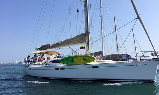 Charter The Yacht Of Your Dreams Jeanneau 54 Cruising Monohull In Cartagena, Colombia