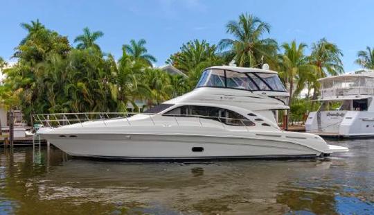 Hit The Water On Sea Ray 58 Motor Yacht In Cartagena, Colombia