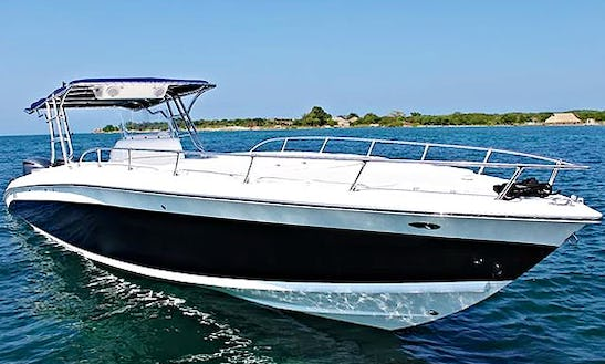 Have An Amazing Time In Cartagena, Colombia On Bravo 41 Center Console