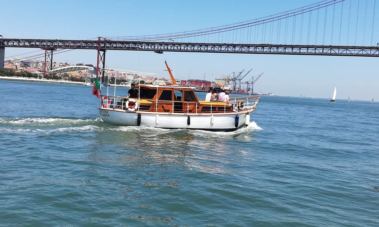 Private Boat Trips, Stag/Hen Parties and Sunset Cruises in Lisboa, Portugal
