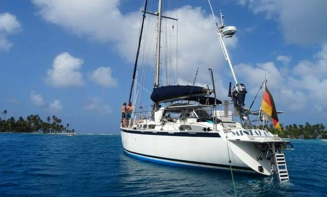 "An amazing charter experience on ""Mintaka"" Cruising Monohull in Cauca, Colombia"