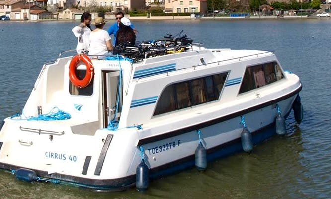 """Enjoy Little Alsace Cruise on a """"Cirrus A"""" Canal Boat"""