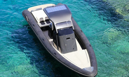 Scorpion Seafarer 36 Rigid Inflatable Boat Available For Charter In Paras, Greece,