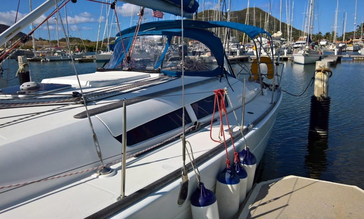 Sun Odyssey 39i Yachat in Saint Lucia Rodney Bay Marina