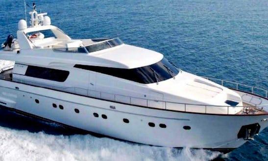 Jump Aboard San Lorenzo 80 To Explore Porto Rotondo, Sardegna