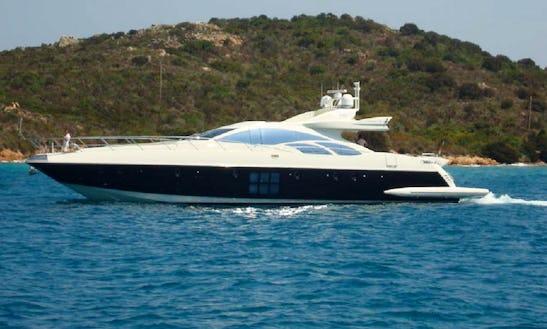 Have Fun In Porto Rotondo, Sardegna Aboard Azimut 86