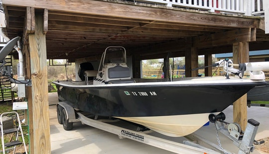 Center Console Fishing Charter In Kemah