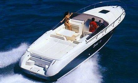 Soleil 33 Inboard Propulsion Rental for 8 People in Giardini Naxos, Italy