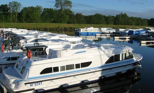The Dukes of Brittany Cruise aboard 37' Canal Boat with 2 Cabins