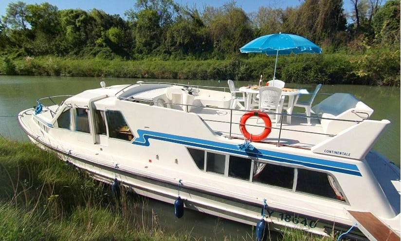 Beautiful 6 Person Canal Boat to Cruise in Brittany, France | The Dukes of Brittany Cruise
