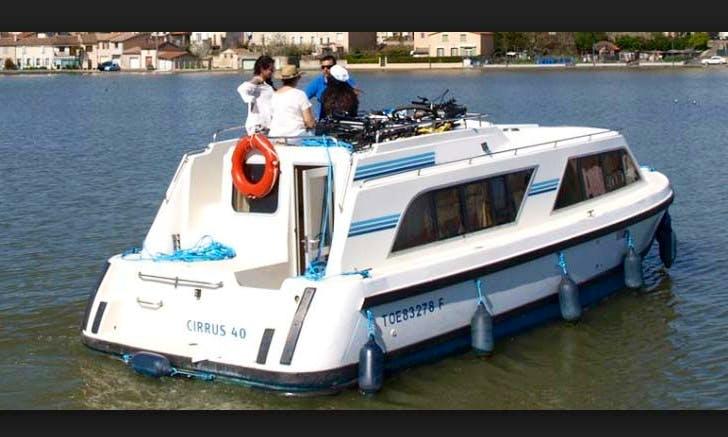 The Alsacian Etangs Short Break Cruise aboard the 29' Canal Boat for 4 Person in Alsace-Lorraine, France