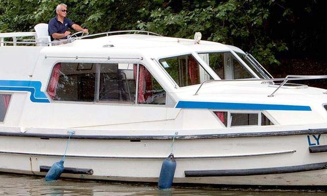 Cruise the Loire-Valley, France on the 37' Canal Boat for $990 a night