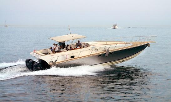 Motor Yacht Rental In Menton