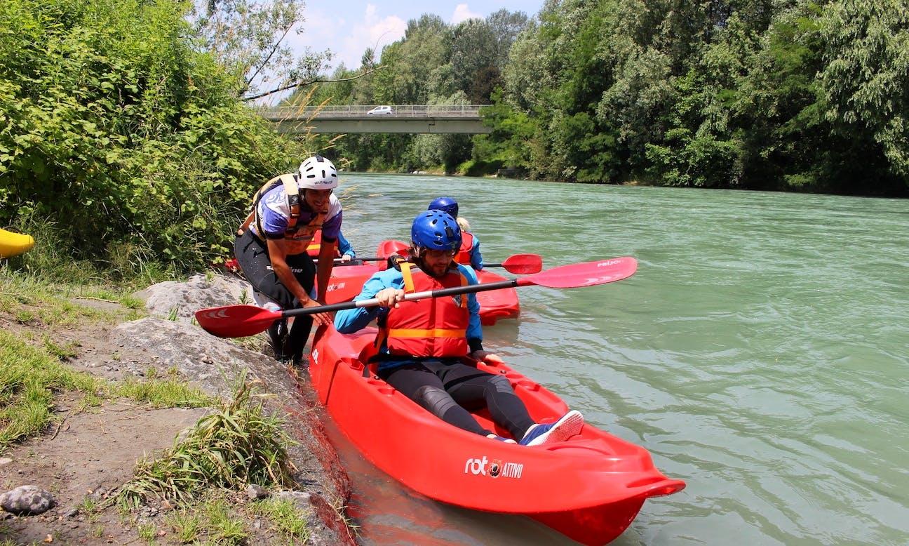 KAYAK FUN BOATER X-TREME - Castione Andevenno / Valtellina / Lombardia