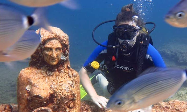 Once-in-a-lifetime opportunity in Antalya to explore underwater