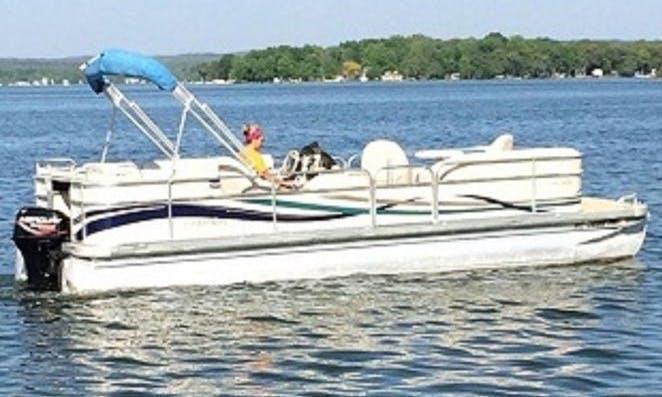 Deck Boat rental in Fennville
