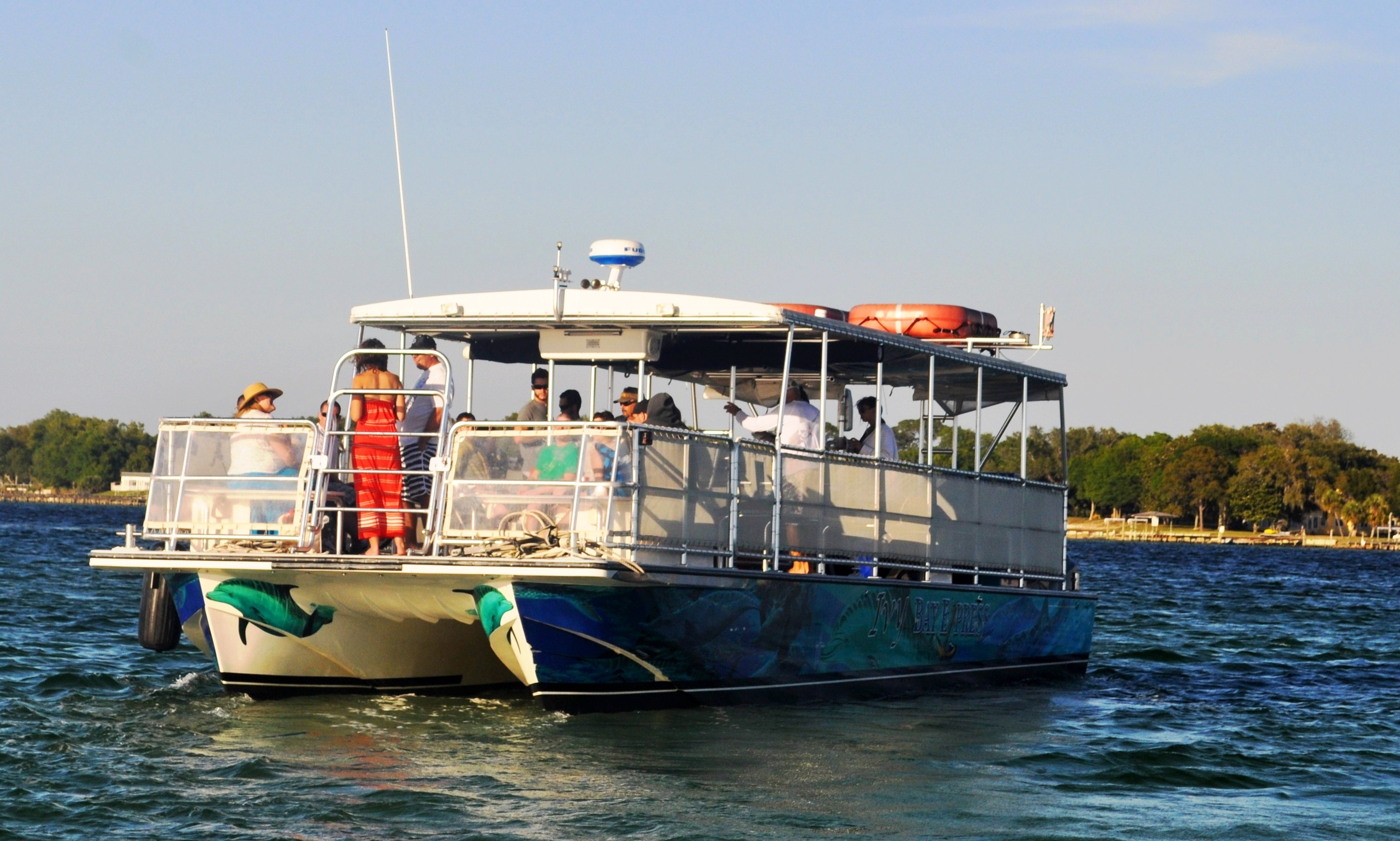 Private Crab Island Excursions And Dolphin Tour In Destin