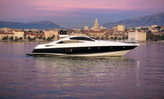 Sunseeker Predator 72 Luxury Yacht Available For Charter In Split, Croatia