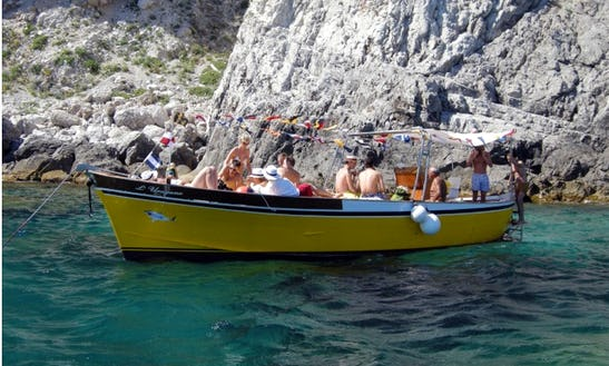 Have An Amazing Time In Capri, Campania On 33' Hurricane Gozzo
