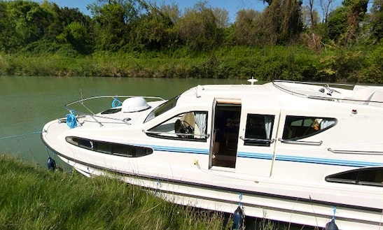 47' Canal Boat For 10 Person | The Meridonial Cruise In Canal Du Midi, France