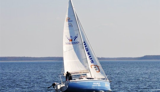 Maxus 22 Sailboat Charter In Wilkasy, Poland