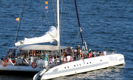 Public Cruises In Catamaran For Sightseeing In Barcelona